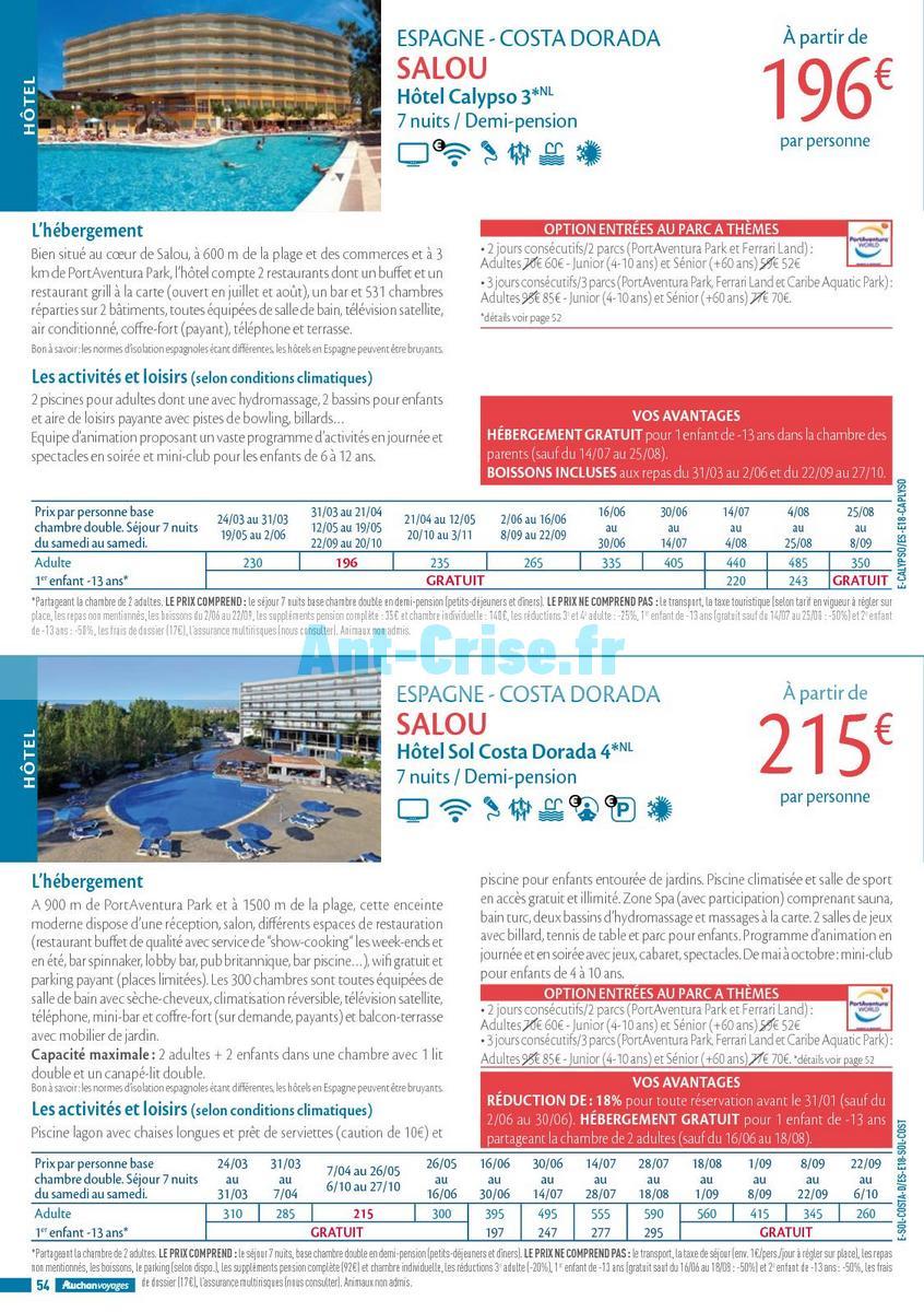 septembre2018 Catalogue Auchan du 21 mars au 21 septembres 2018 (Voyages) (54)