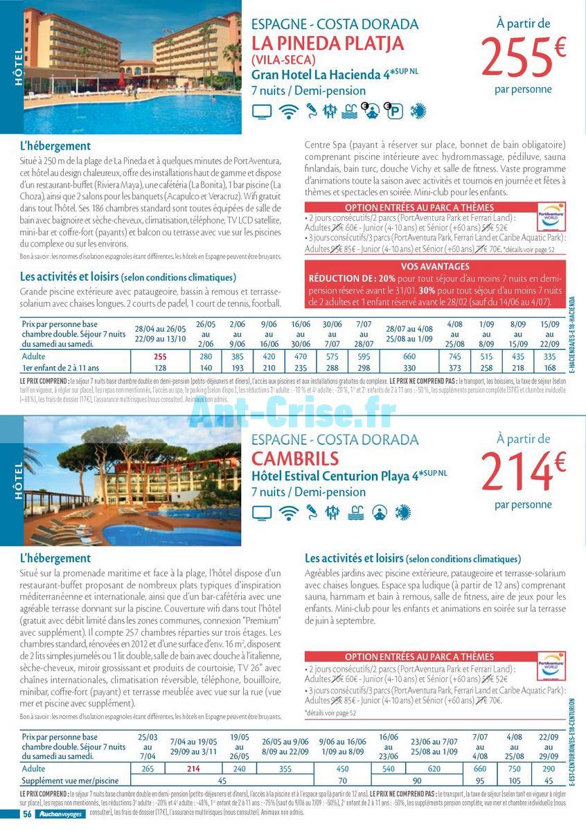 septembre2018 Catalogue Auchan du 21 mars au 21 septembres 2018 (Voyages) (56)