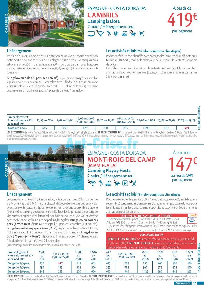 septembre2018 Catalogue Auchan du 21 mars au 21 septembres 2018 (Voyages) (57)