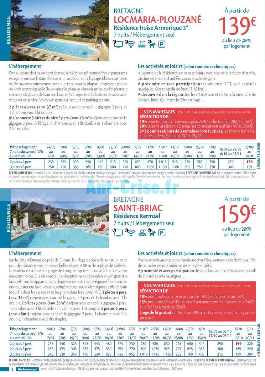 septembre2018 Catalogue Auchan du 21 mars au 21 septembres 2018 (Voyages) (6)