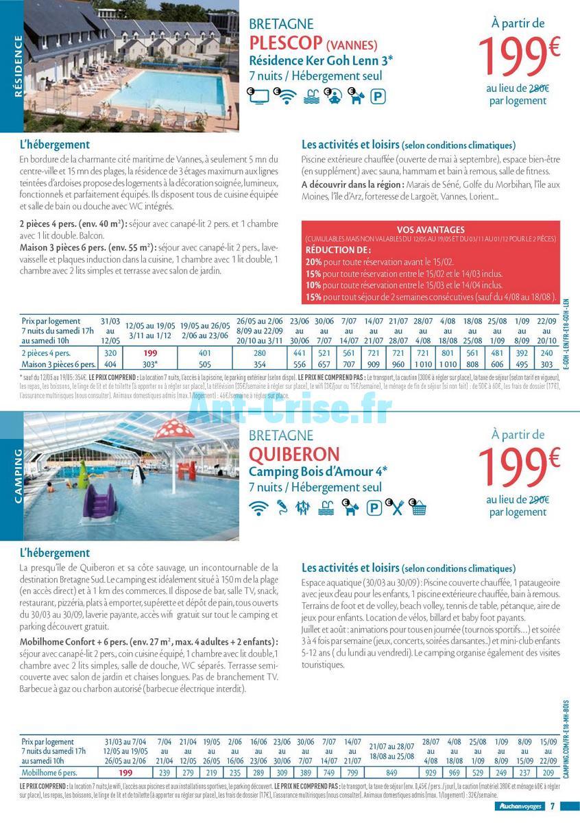 septembre2018 Catalogue Auchan du 21 mars au 21 septembres 2018 (Voyages) (7)