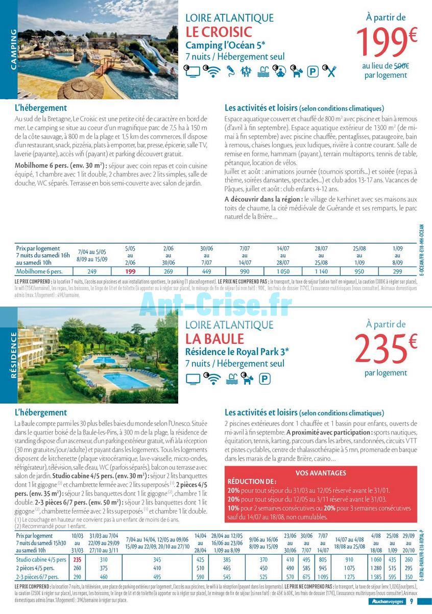 septembre2018 Catalogue Auchan du 21 mars au 21 septembres 2018 (Voyages) (9)