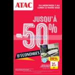 Catalogue Atac du 7 au 12 mars 2018
