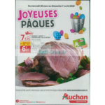 Catalogue Auchan Supermarché du 28 mars au 1er avril 2018