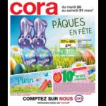 Catalogue Cora du 20 au 31 mars 2018