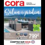 Catalogue Cora du 20 mars au 5 mai 2018 (Mobilier de Jardin)