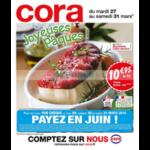 Catalogue Cora du 27 au 31 mars 2018 (Frais)