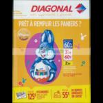 Catalogue Diagonal du 28 mars au 8 avril 2018