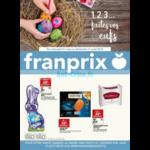 Catalogue Franprix du 21 mars au 1er avril 2018