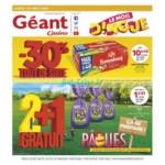 Catalogue Géant Casino du 13 au 24 mars 2018