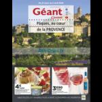 Catalogue Géant Casino du 21 mars au 2 avril 2018 (Provence)