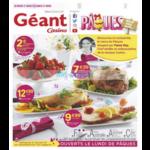 Catalogue Géant Casino du 27 au 31 mars 2018 (Pâques)