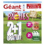 Catalogue Géant Casino du 27 mars au 7 avril 2018