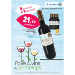 Catalogue Leclerc du 20 au 31 mars 2018 (Ouest - Vins)