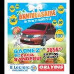Catalogue Leclerc du 20 mars au 31 mars 2018 (Orly)