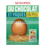 Catalogue Monoprix du 23 mars au 2 avril 2018