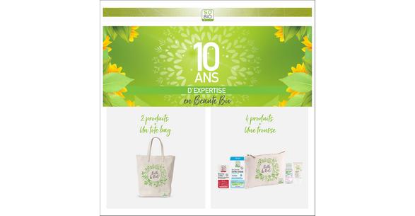 Bon Plan So'Bio étic : Tote Bag ou Trousse en Coton Bio Offerts - anti-crise.fr