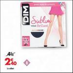 Bon Plan Collants Sublim Dim chez Carrefour - anti-crise.fr