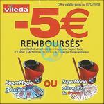 Offre de Remboursement Vileda : 5€ Remboursés sur la Gamme SuperMocio - anti-crise.fr