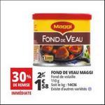 Bon Plan Fonds de Veau Maggi chez Auchan - anti-crise.fr