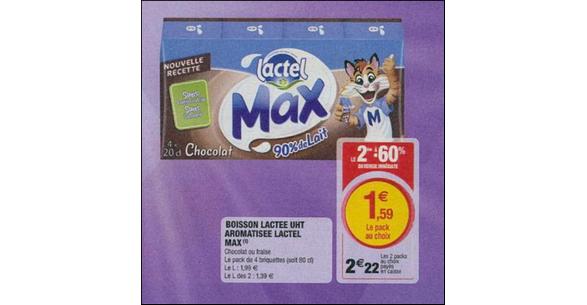 Bon Plan Lactel Max chez Magasins U - anti-crise.fr