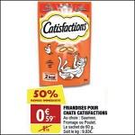 Bon Plan Friandises pour Chat Catisfactions chez Atac (21/03 - 01/04) - anti-crise.fr