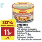 Bon Plan Fond Maggi chez Atac (21/03 - 01/04) - anti-crise.Fr