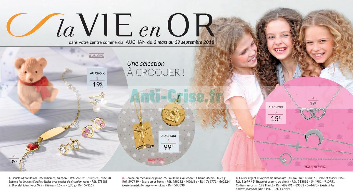 septembre2018 Catalogue Auchan du 3 ars au 29 septembre 2018 (Bijoux) (1)