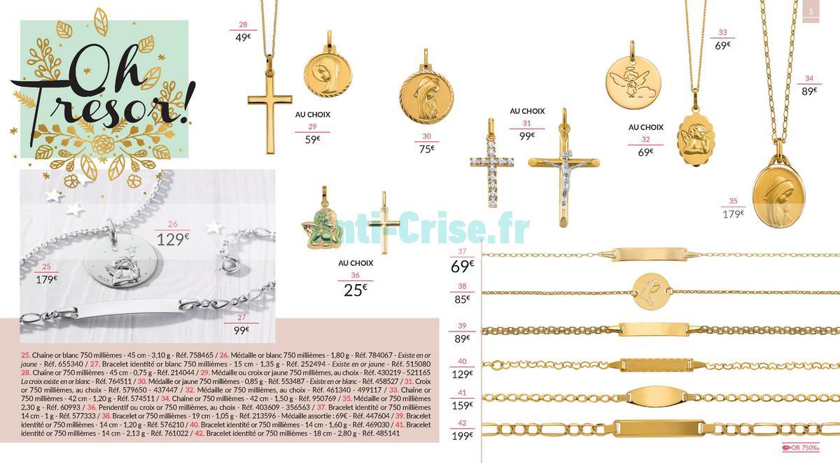 septembre2018 Catalogue Auchan du 3 ars au 29 septembre 2018 (Bijoux) (3)
