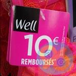 Offre de Remboursement Well : 10€ Remboursés pour l'Achat d'un Ensemble - anti-crise.fr