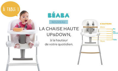 Test De Produit Consobaby Chaise Haute Up Down De Beaba