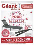 Géant Casino du 15 au 27 mai
