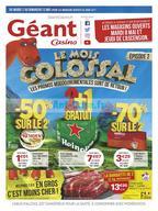 Géant Casino du 2 au 13 mai
