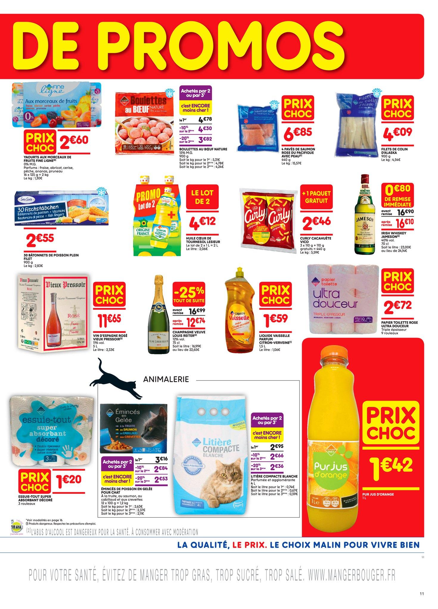 Catalogue Leader Price du 8 au 20 mai 2018 (Le Mois 100% Remboursé Vague 1) (11)
