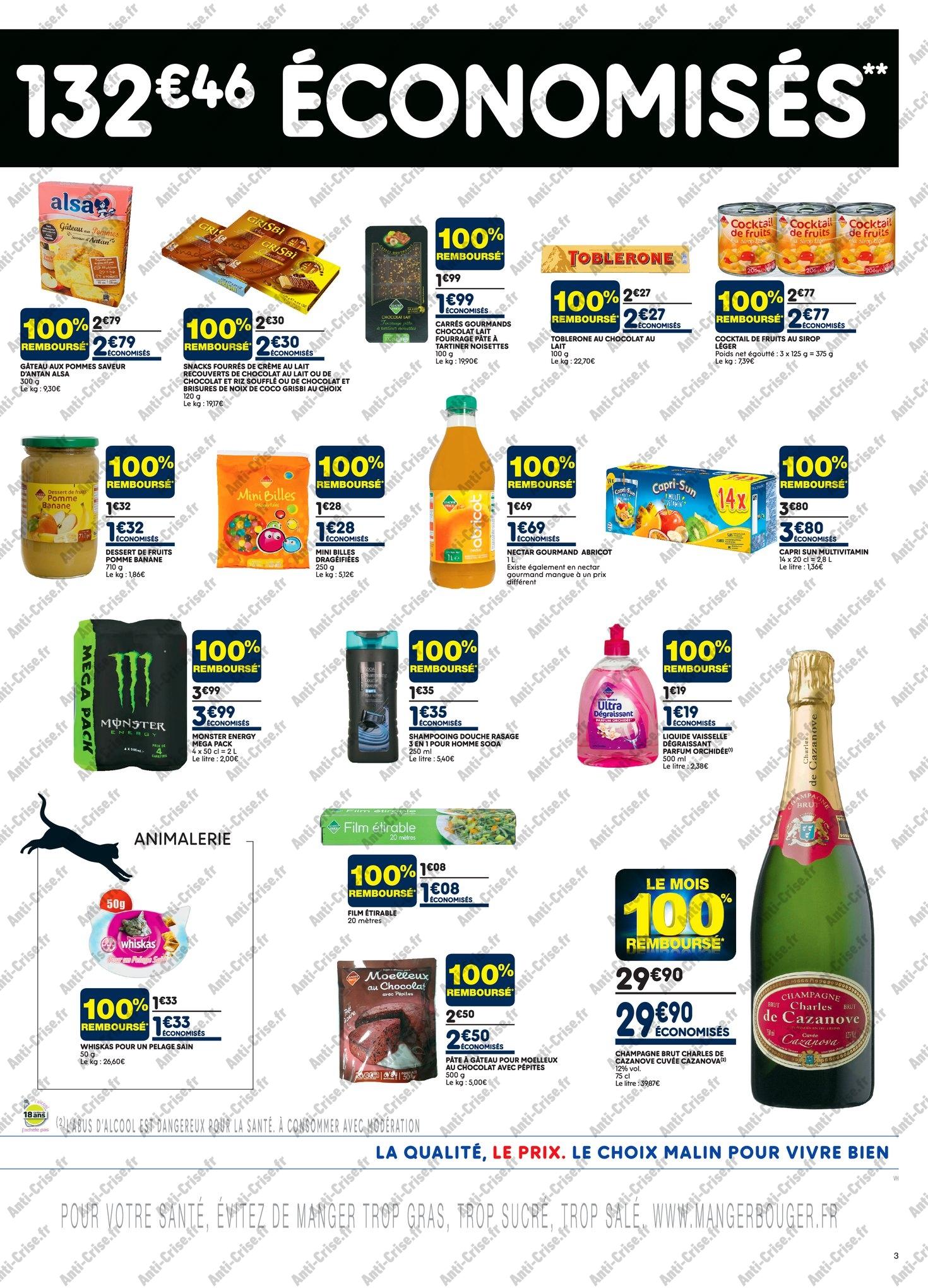 Catalogue Leader Price du 8 au 20 mai 2018 (Le Mois 100% Remboursé Vague 1) (3)