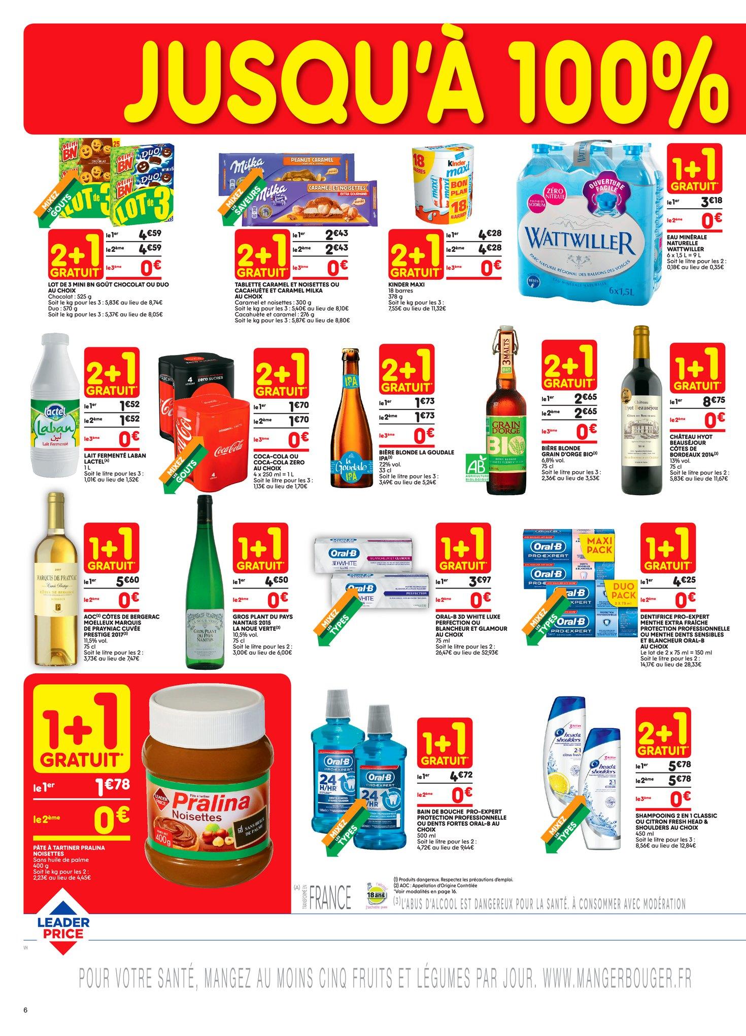 Catalogue Leader Price du 8 au 20 mai 2018 (Le Mois 100% Remboursé Vague 1) (6)