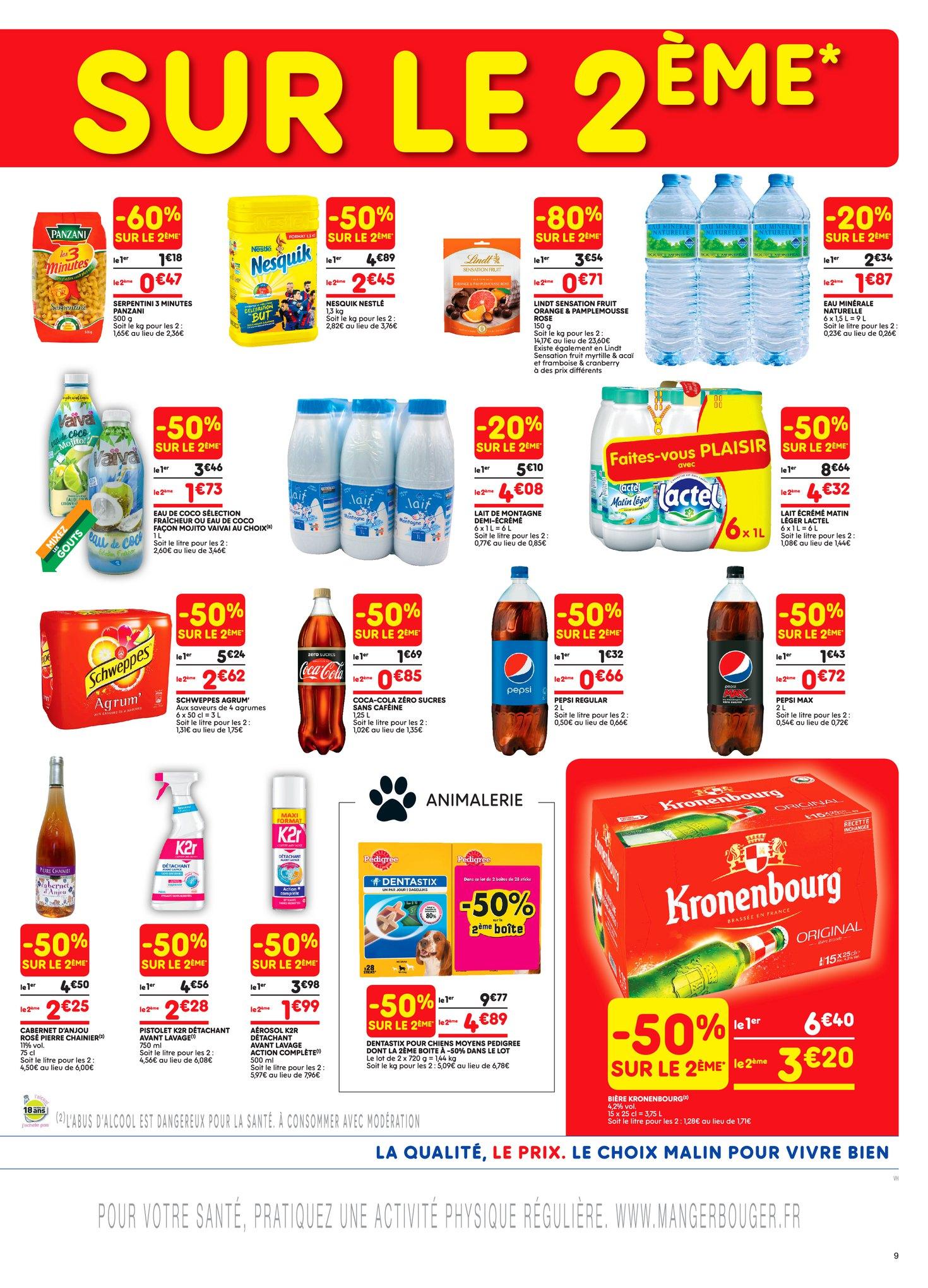 Catalogue Leader Price du 8 au 20 mai 2018 (Le Mois 100% Remboursé Vague 1) (9)
