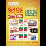 Catalogue Match du 16 au 27 mai 2018 (Gros Volumes)