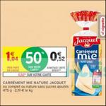 Bon Plan Pain de Mie Jacquet chez Intermarché - anti-crise.fr