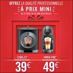 Offre de Remboursement Nescafé : 39€ Remboursés sur Dolce Gusto Oblo ou 49€ sur Mini Me - anti-crise.fr