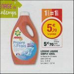 Bon Plan Lessive Ariel Simply chez Magasins U - anti-crise.fr