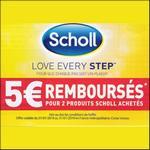 Offre de Remboursement Scholl : 5€ Remboursés pour 2 Produits - anti-crise.fr