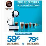 Offre de Remboursement Nescafé : Jusqu'à 79€ Remboursés sur Dolce Gusto LUMIO® - anti-crise.fr