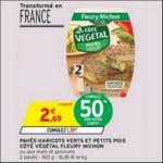 Bon Plan Côté Végétal Fleury Michon chez Intermarché - anti-crise.fr