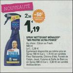 Bon Plan Spray Mr Propre Ultra Power chez Leclerc - anti-crise.fr