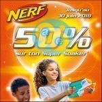 Offre de Remboursement Hasbro : 50% Remboursés sur Nerf Super Soaker - anti-crise.fr