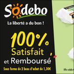 Offre de Remboursement Sodebo : Sandwich Le Fresh Satisfait ET 100% Remboursé en 2 Bons - anti-crise.fr