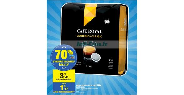 Bon Plan Dosettes Café Royal chez Carrefour Market - anti-crise.fr