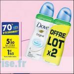 Bon Plan Déodorant Dove Bille chez Carrefour - anti-crise.fr