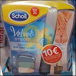 Offre de Remboursement Scholl : 10€ Remboursés sur Râpe Electrique Velvet Smooth ou Wet&Dry - anti-crise.fr